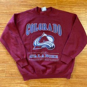 Vintage Colorado Avalanche Sweatshirt